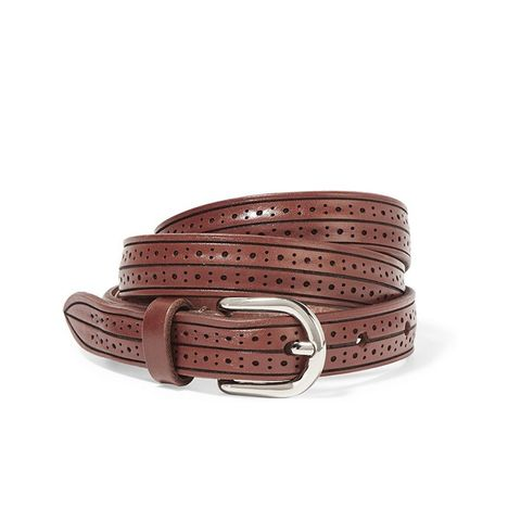 Kaylee Laser-Cut Leather Belt
