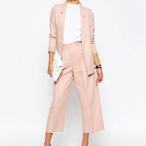 Premium Linen Clean Suit Blazer