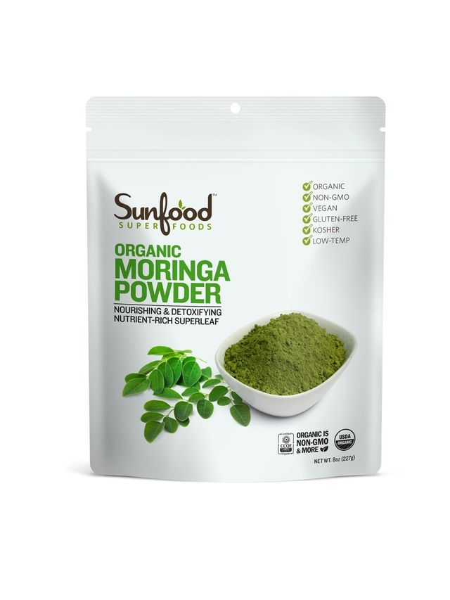 Sunfood Raw Organic Moringa Powder