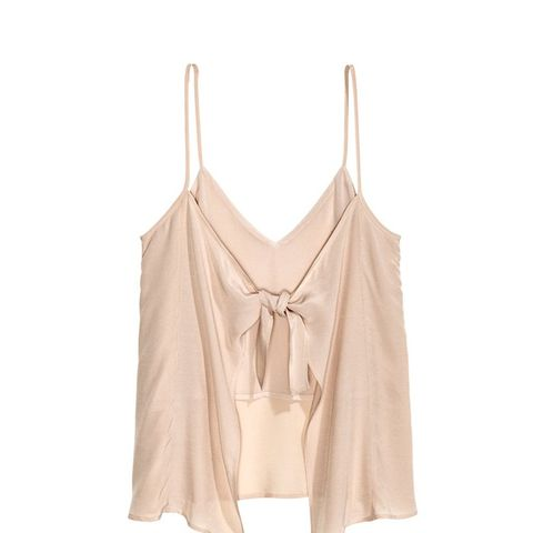Tie-Back Camisole Top