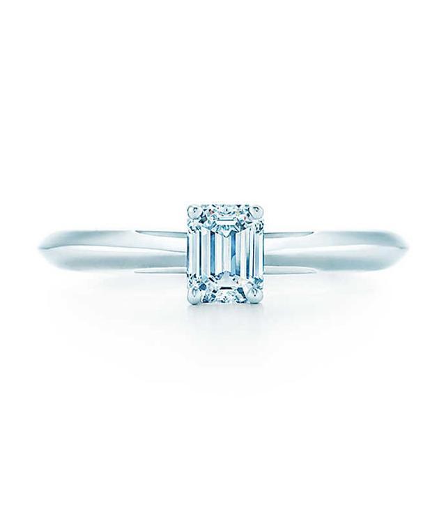 Tiffany Emerald Cut Engagment Ring