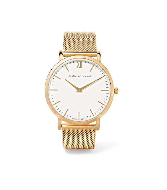 Larsson & Jennings CM Gold-Plated Watch