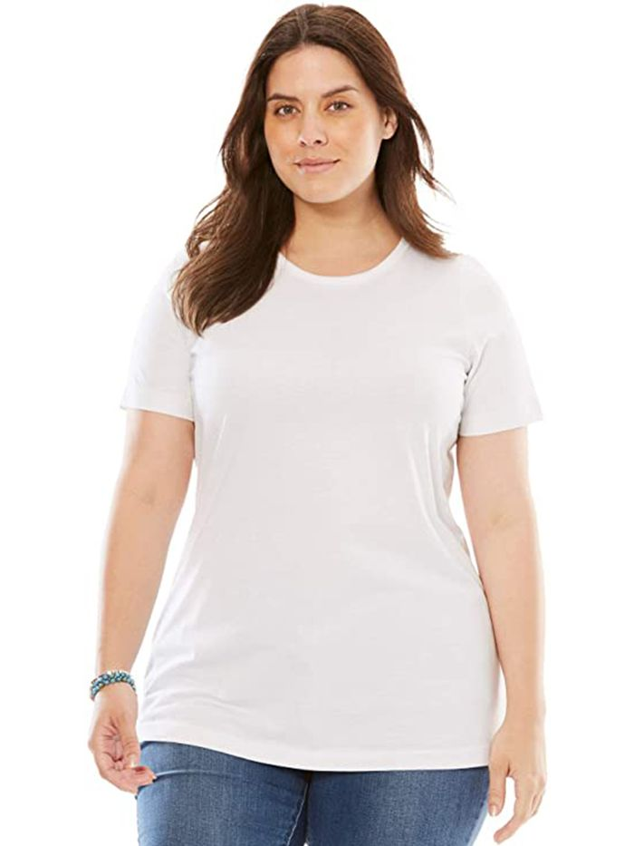 Rated: The 25 Best White T-Shirts on Amazon   Who What Wear