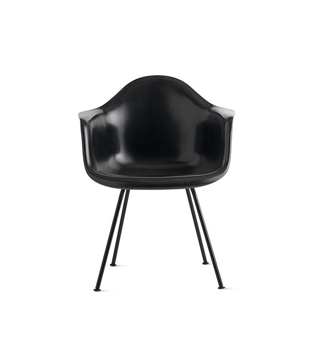 Herman Miller Eames Molded Fiberglass 4-Leg Armchair