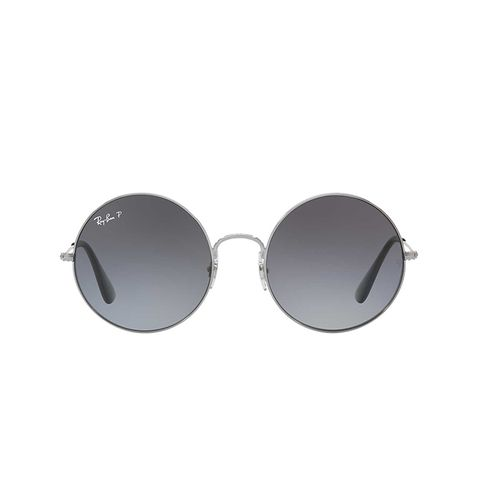 55 Gunmetal Round Sunglasses
