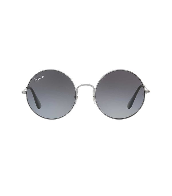 55 Gunmetal Round Sunglasses - rb3592