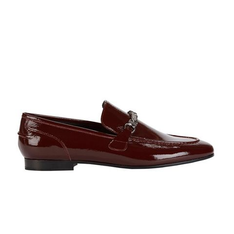 Cooper Chain Detail Patent Leather Loafer