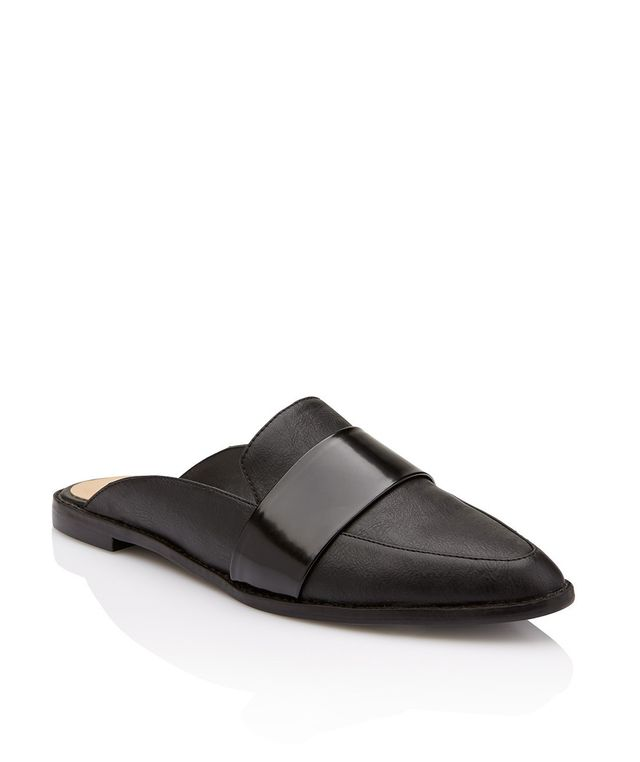 Sportsgirl Gordon Backless Slip On Flat