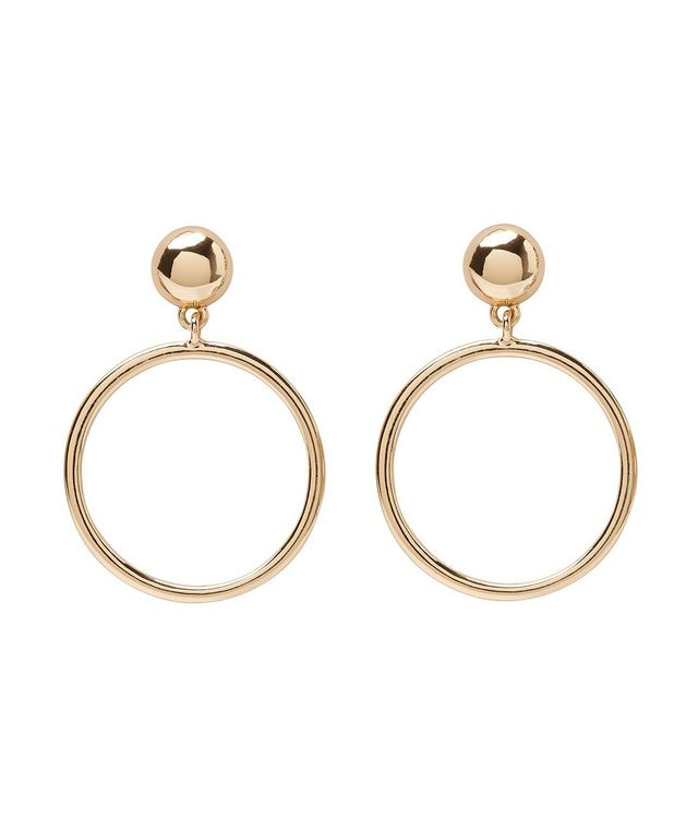 Sportsgirl Circle Dangle Earrings