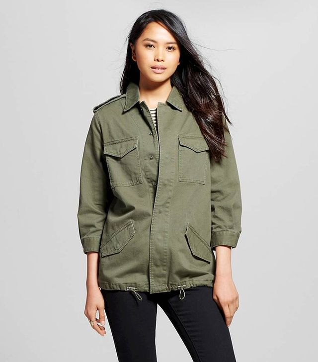 Who What Wear Slouchy Utility Jacket