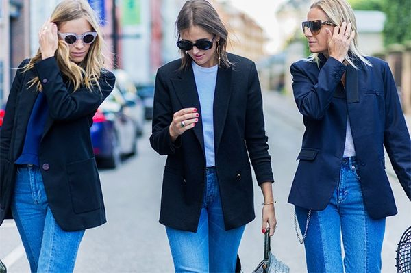 Style Notes: What did we tell you about blazers and jeans already?