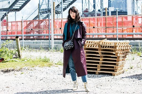 Style Notes: Shini Park of Park and Cubealways looks elegant, and this sumptuous leather By Malene BirgerPasinio Coat(£1880) issophisticated but adventurouswhen...