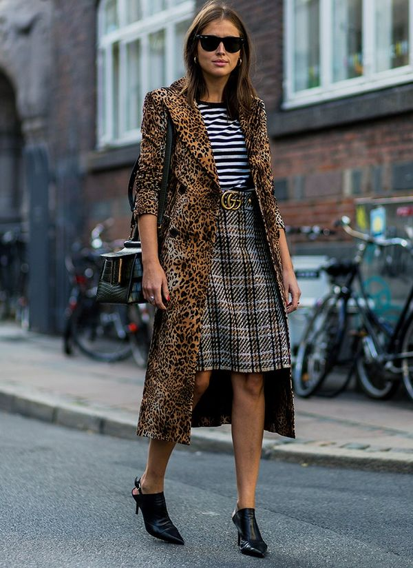 Style Notes: Darja Baranik has the Baum Und Pferdgarten leopard-print Devona Coat(£371) every girl in Copenhagen either has or wants (really badly)—and we can see why. Just how...