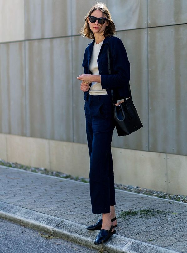 Style Notes: Stylist Victoria Sekrier's laid-back Ganni look can be copied and pastedby all of those girls who don't want to be outrageous with their dress sense.