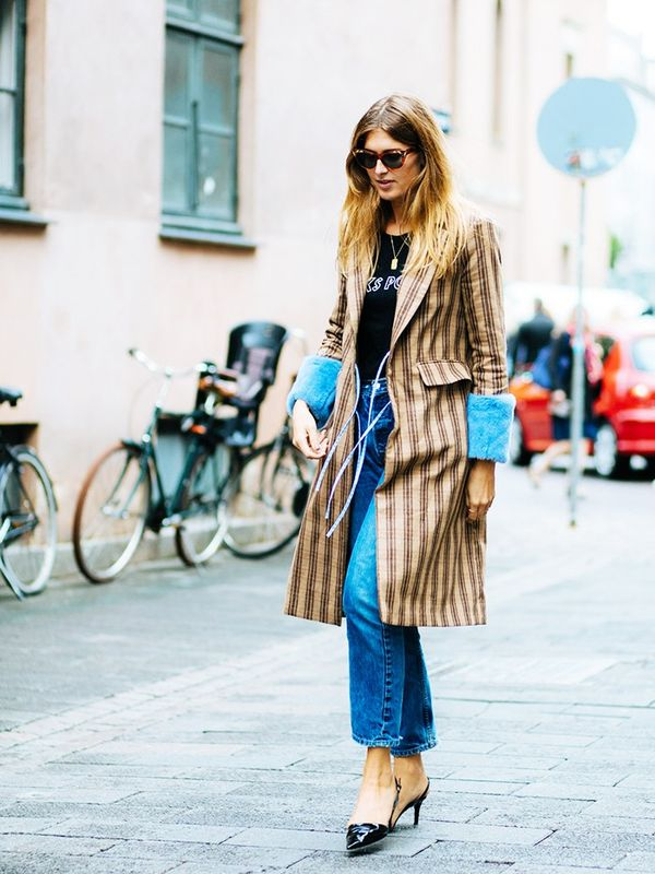Style Notes:A standout coat that does all the hard work for you—simply wear a statement piece of outerwear with jeans and a black jumper as soon as the temperatures dip. Seemore...