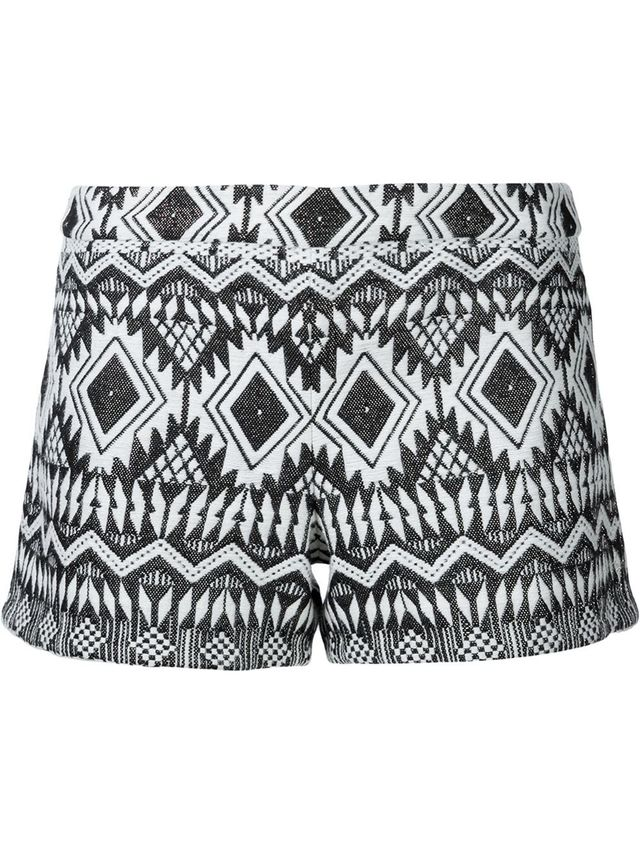 Alice and Olivia Patterned Shorts