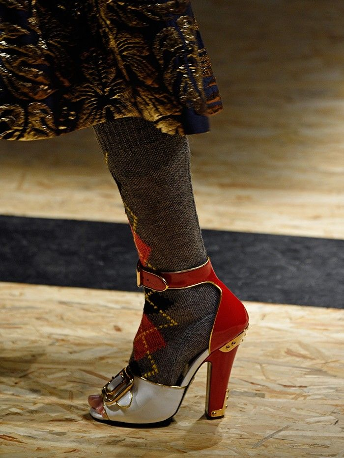 Autumn winter 2016 high heel shoe trend