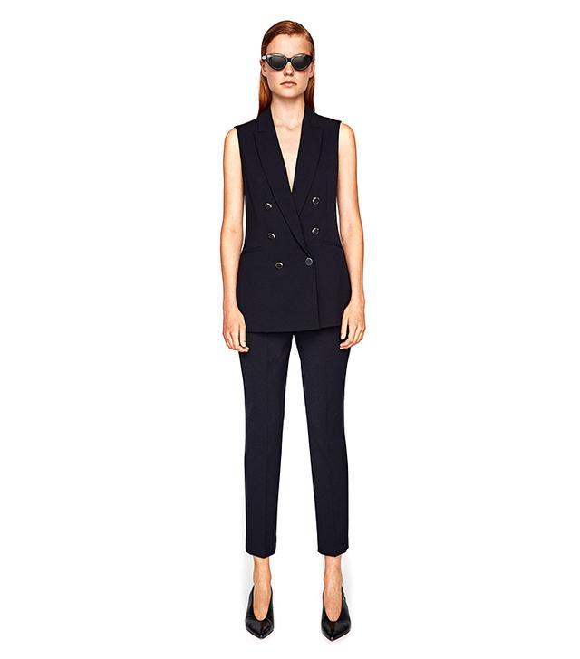 Zara Double-Breasted Waistcoat