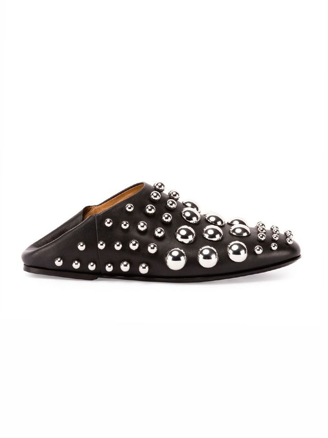 Alexander Wang Edie Convertible Studded Leather Slipper