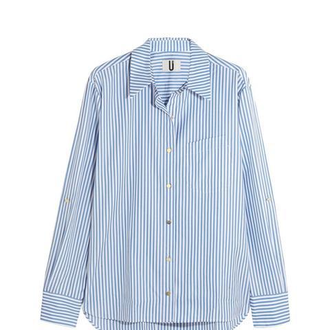 Dorney Striped Cotton-poplin Shirt