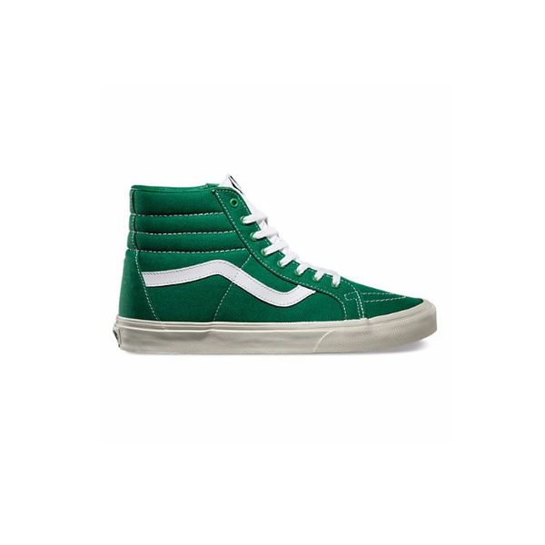 Vans Canvas Sk8-Hi Reissue in Green