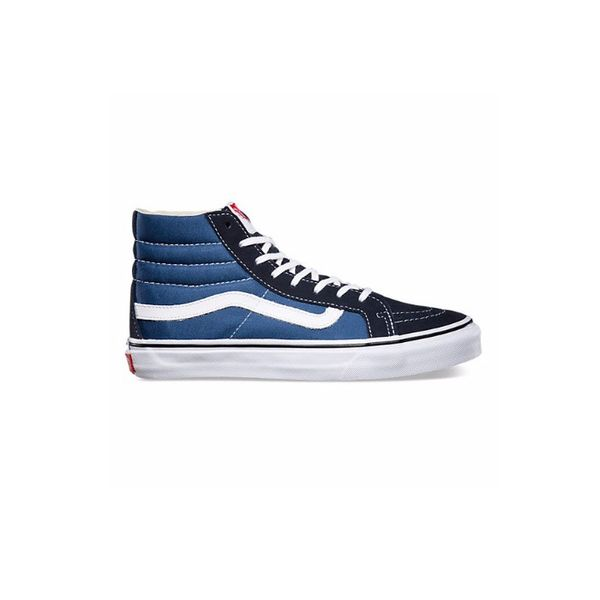 Vans Sk8-Hi Slim in Navy/White