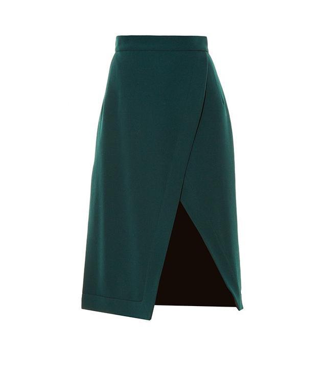 Altuzarra Jude Asymmetric Hem-Split Skirt