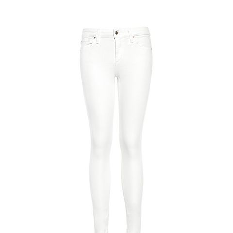 The Blondie Ankle Mid Rise Skinny