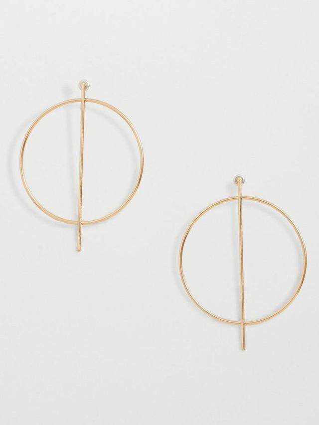 Mango Hoop Earrings