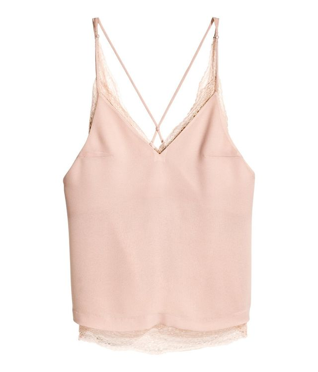H&M Double-Layer Lace Camisole