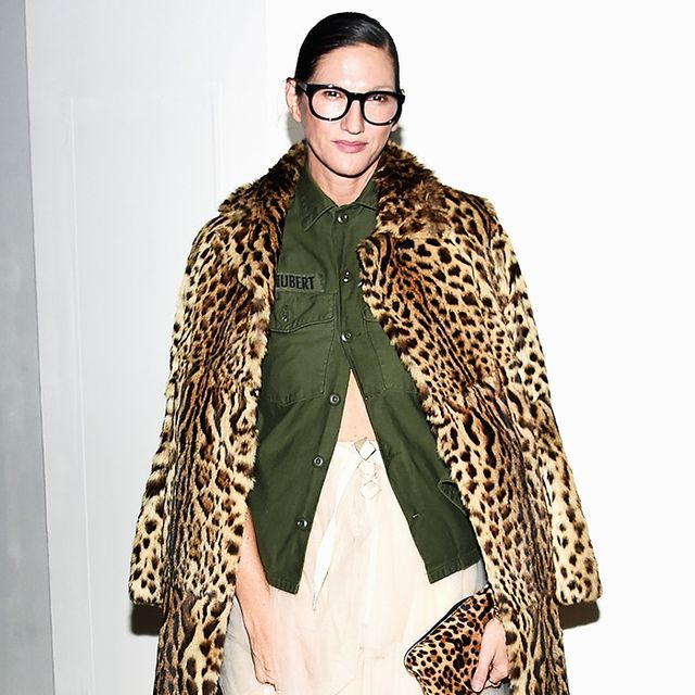 Jenna Lyons Just Wore the Cool-Girl Party Outfit of 2016