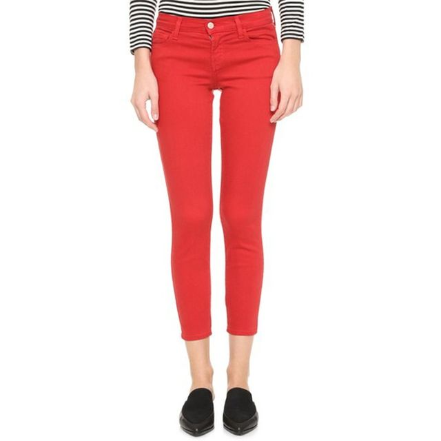 J Brand 9227 Low Rise Ankle Jeans
