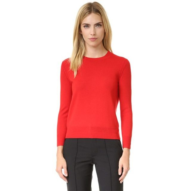Marc Jacobs Embroidered Classic Crew Sweater