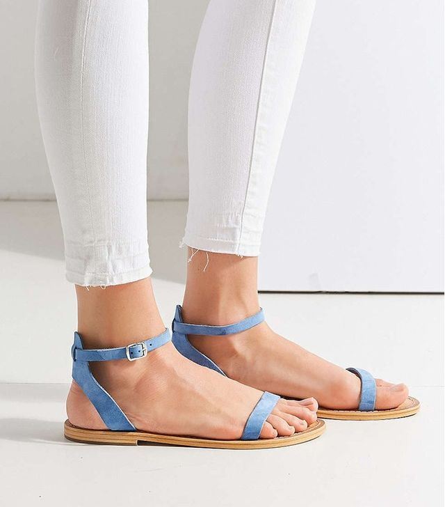 Urban Outfittters Hazel Suede Thin Strap Sandal