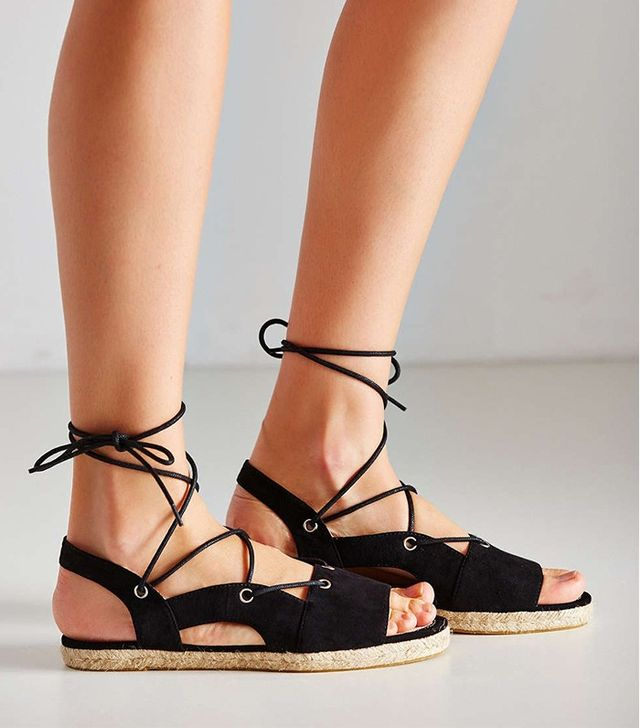 Urban Outfitters Anabelle Espadrille Lace-Up Sandal