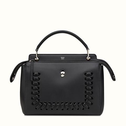 Dotcom Medium Whipstitch Satchel Bag