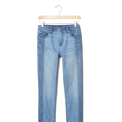 Authentic 1969 Two-Tone Best Girlfriend Jeans