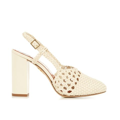 Willa Leather Slingback Heels