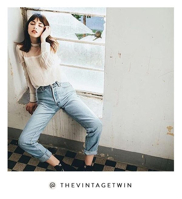 Fashion It girls love New York's The Vintage Twin, a shop stocked with everything from your perfect pair of mom jeans to cool concert tees.Shop the Instagram: @TheVintageTwin Need more...