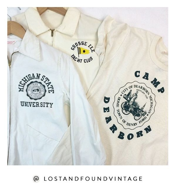 While you may have never visited Royal Oak, Michigan, you can still shop the goodies from Lost and Found, a cute spot located just outside of Detroit. Shop the Instagram: @LostandFoundVintage