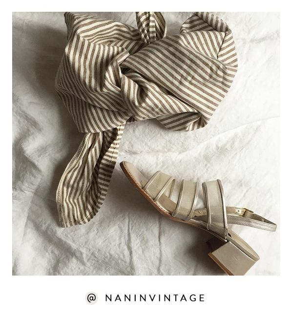 Chock-full of super-affordable and seriously cool vintage finds, Na Nin Vintage has amassed a cult following among the fashion crowd. Shop the Instagram: @NaNinVintage