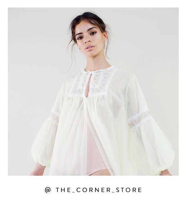 We're not sure what's cooler: The Corner Store's ultra-feminine pieces or its dreamy styling. Shop the Instagram: @The_Corner_Store