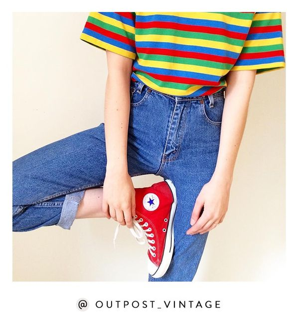 Newly launched Outpost brings a dose of Canadian cool to the online vintage space. Shop the Instagram: @Outpost_Vintage
