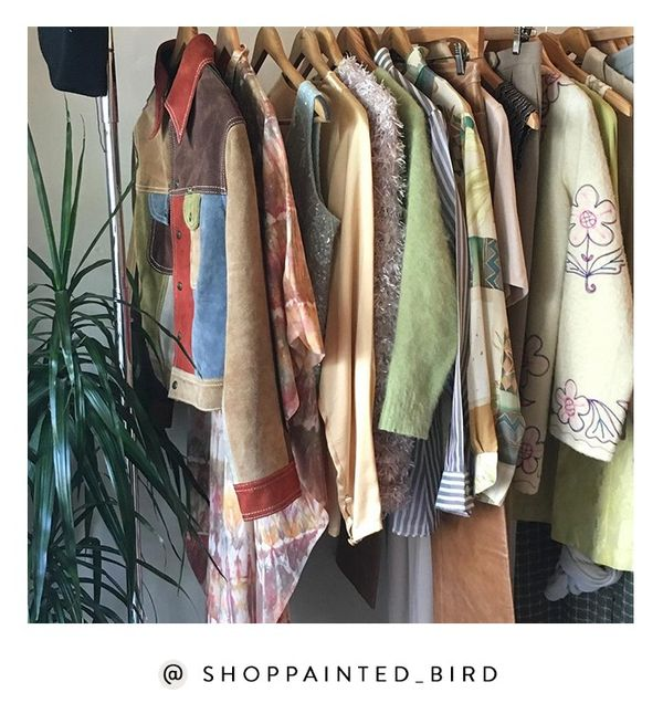 From colorful suede to tie-dye and zany dad shirts, San Francisco's Painted Bird offers up the very best uncool-cool pieces. Shop the Instagram: @ShopPainted_Bird