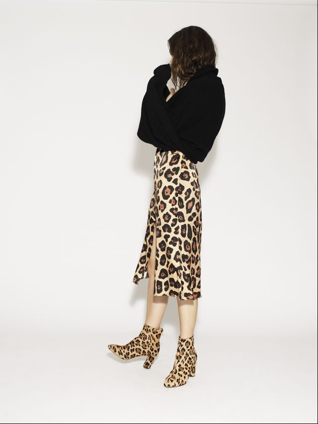 This mix of leopard on leopard just works.