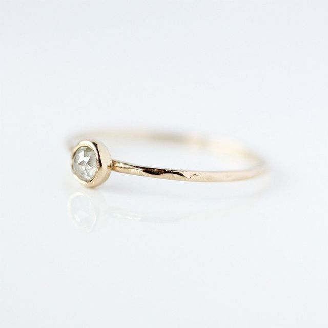 Belinda Saville Rose Cut Diamond Ring