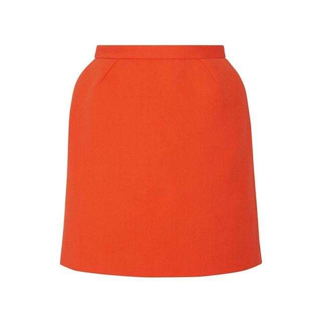 Delpozo Cotton-Blend Skirt