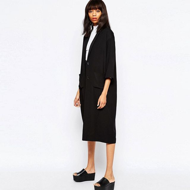 Monki Oversized Duster Coat
