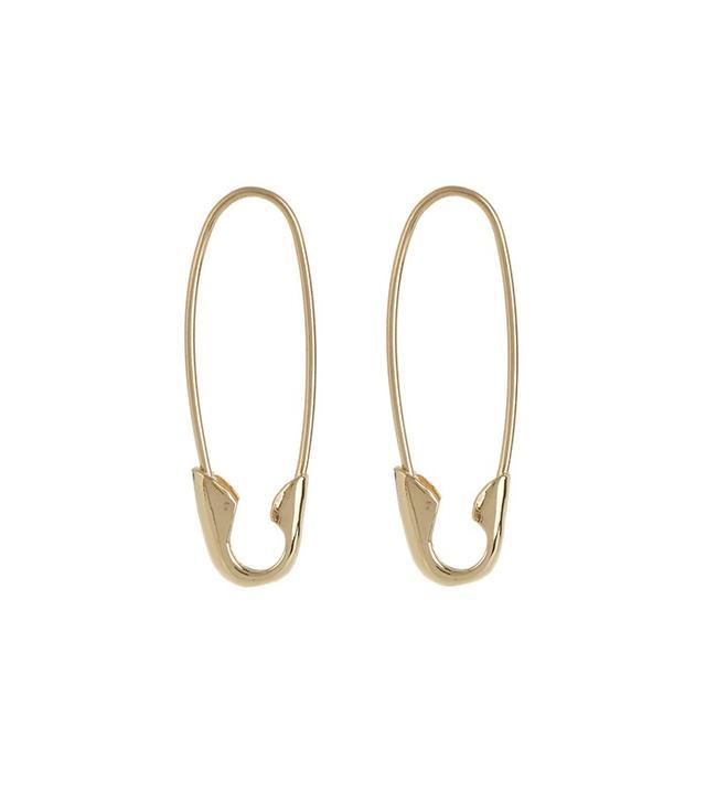 Loren Stewart Safety Pin Earrings