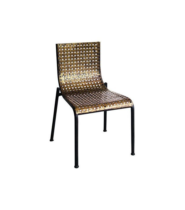 Golden Dream Stamped Metal Chair